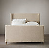 "Grayson Upholstered Sleigh 58"" Bed"