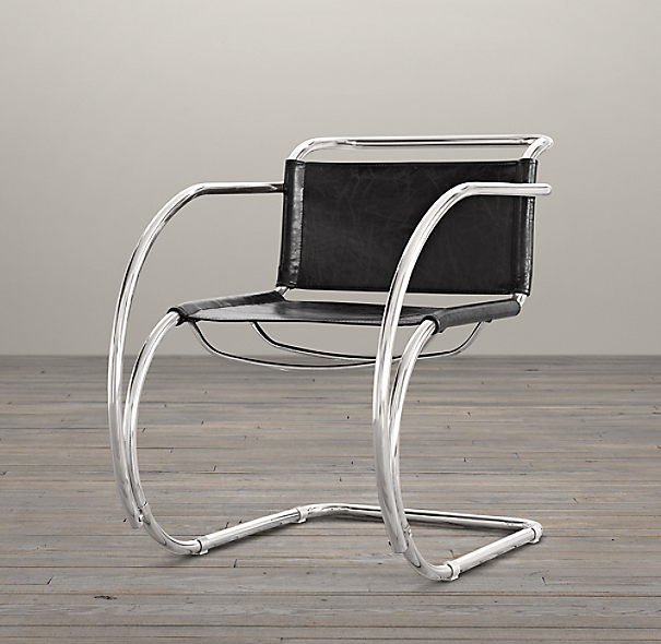 1960s Cantilevered Armchair