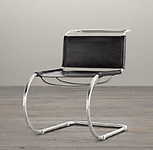 1960s Cantilevered Side Chair