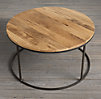 Watts Reclaimed Russian Oak Round Coffee Table