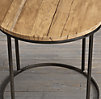 "23"" Watts Reclaimed Russian Oak Side Table (Set of 2)"
