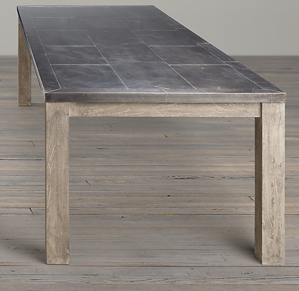 Parsons Railroad Tie Dining Tables