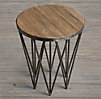 "18"" Tribeca Round Side Table"