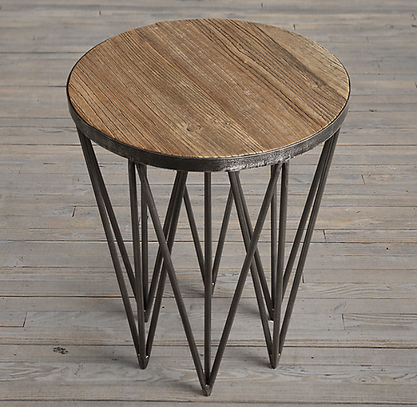 "18"" Tribeca Round Side Table (Set of 2)"