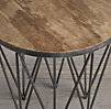 "24"" Tribeca Round Side Table"