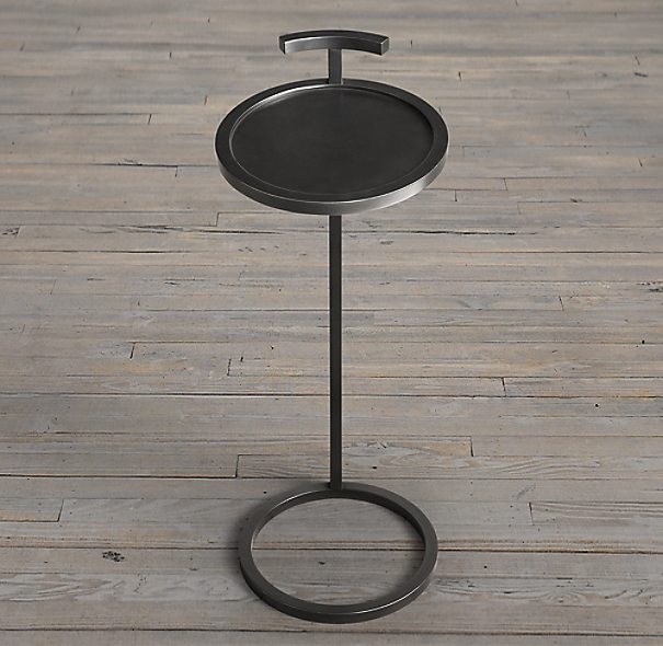 "10"" Martini Side Table Bronze (Set of 2)"