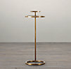 "10"" Martini Side Table Antique Brass (Set of 2)"