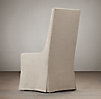 Slipcovered Wingback Dining Side Chair