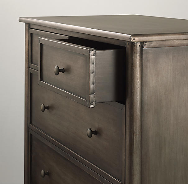 Spencer Metal 4-Drawer Dresser