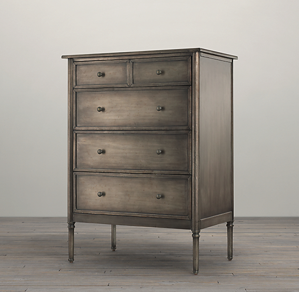 Spencer Metal 5-Drawer Dresser