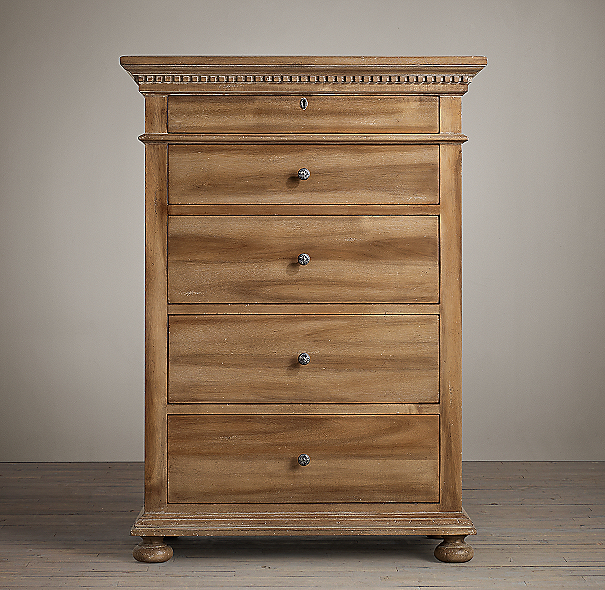 St. James Narrow 5-Drawer Dresser