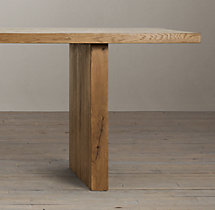 Reclaimed Russian Oak Plank Rectangular Dining Tables