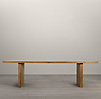 "Reclaimed Russian Oak Plank 108"" Rectangular Dining Table"