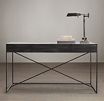 Gramercy Mirrored Desk