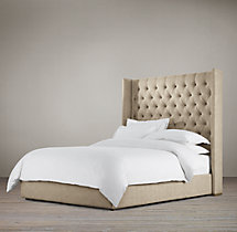 "Adler Tufted Platform 68"" Bed"