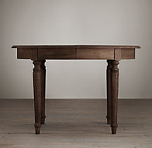 Vintage French Fluted-Leg Table