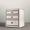 Marseilles Parchment Closed Nightstand