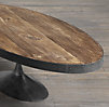 "Aero 55"" Oval Coffee Table"