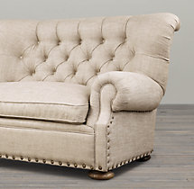 5' Churchill Upholstered Sofa with Nailheads