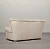 6' Churchill Upholstered Sofa with Nailheads