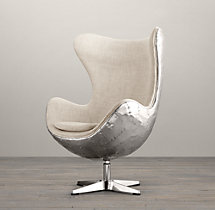1950s Copenhagen Spitfire Upholstered Chair