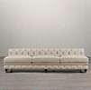 "96"" Kensington Upholstered Armless Sofa"
