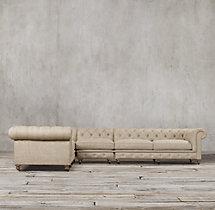Kensington Upholstered L-Sectional