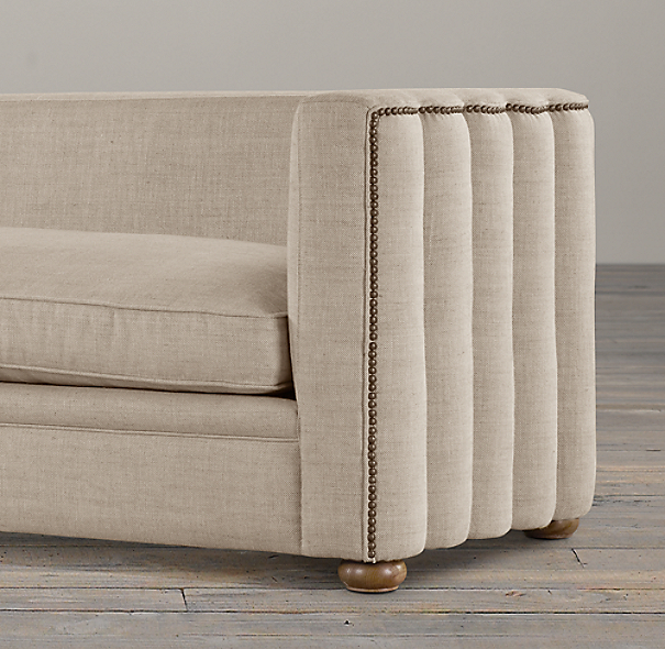 9' Maxime Upholstered Sofa