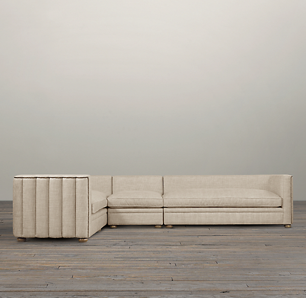 Maxime Upholstered Left-Arm L-Sectional