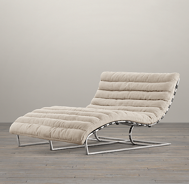 Oviedo Upholstered Double Wide Chaise