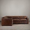 Collins Leather Corner Sectional