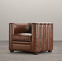 Maxime Leather Chair