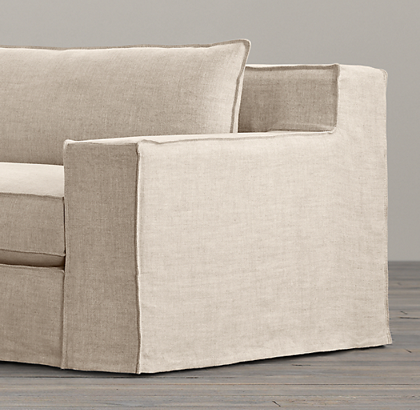 Capri Slipcovered Sofa