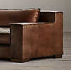 10' Capri Leather Sofa
