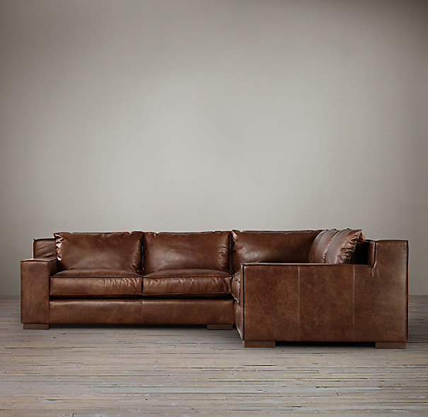 Capri Leather Corner Sectional