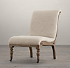 Deconstructed French Slipper Chair