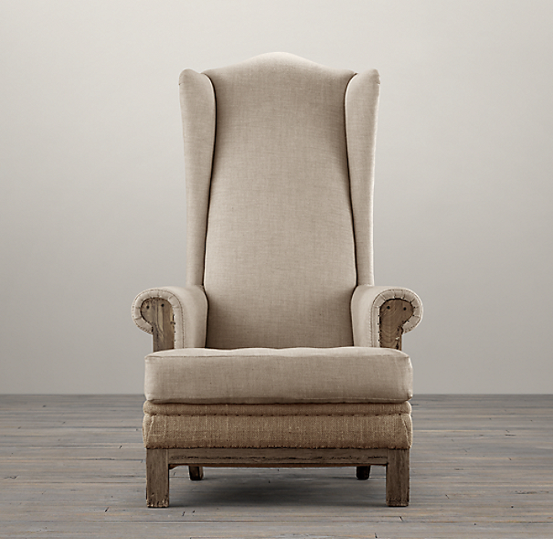 Deconstructed High Wingback Chair