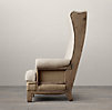 Deconstructed Highback Wing Chair