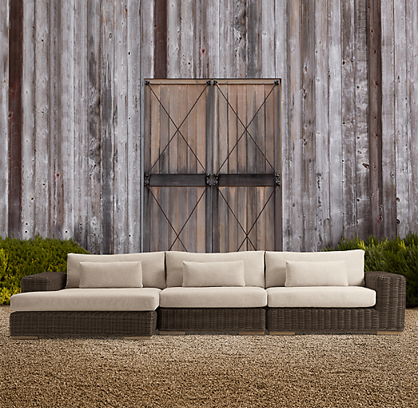 Majorca Sectional Brown
