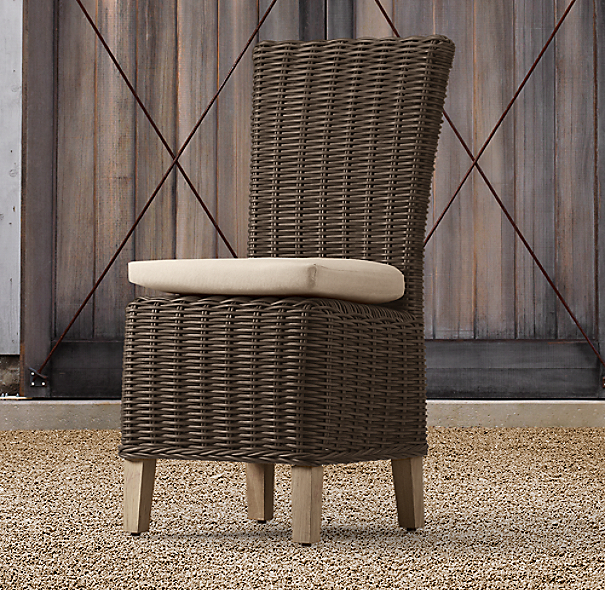 Majorca Side Chair Brown