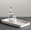 Flatiron Union Stoneware Tray White