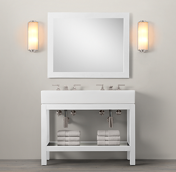 Hutton Double Console Sink