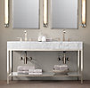 Hudson Metal Double Frame Washstand