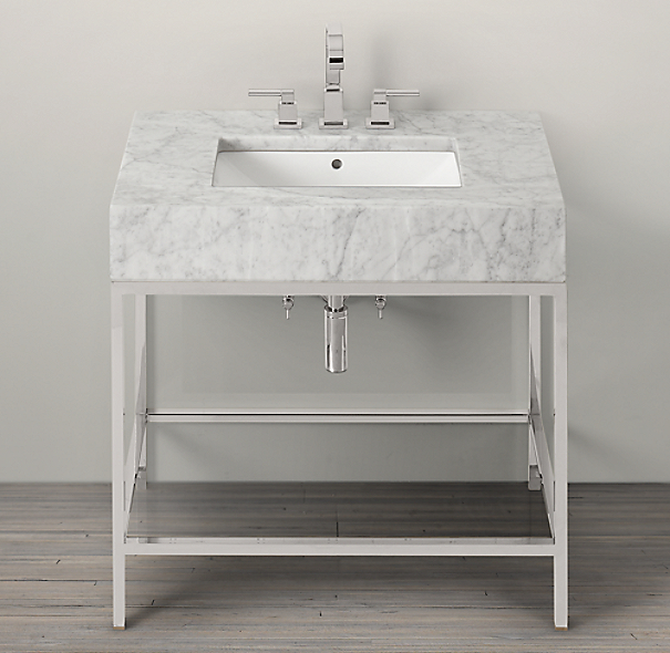 Hudson Metal Single Frame Washstand