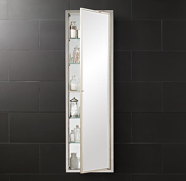 Framed Metal Full Length Medicine Cabinet