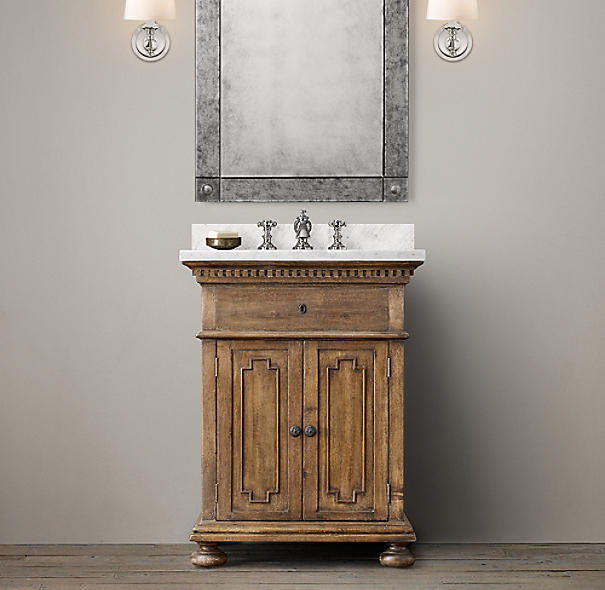 St. James Powder Vanity Sink