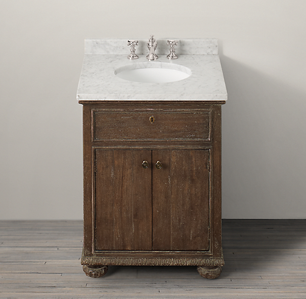 St. James Powder Vanity Sink Base