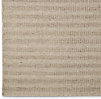 Textured Striped Wool Rug Swatch - Cream