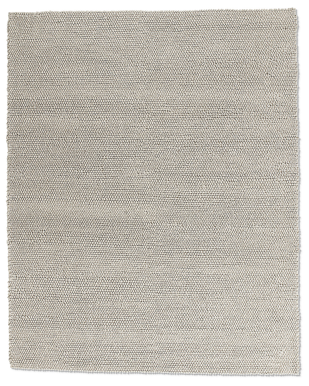 Textura Loop Wool Rug - Grey