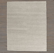 Textura Loop Wool Rug Swatch - Grey